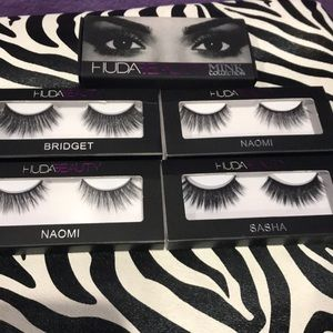 662f8cc0989 HUDA BEAUTY Makeup | Mink Lashes All 4 | Poshmark